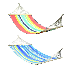 OZtrail Double Hammock with Timber Rails