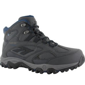 HI-TEC Lima Sport WP Mens Boots - Charcoal/Grey/Blue