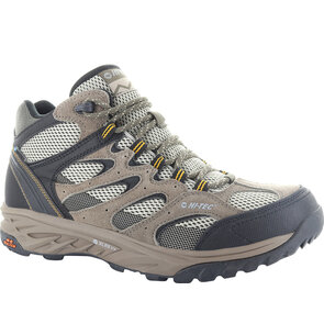 HI-TEC Wild Fire Mid I WP Mens Boots - Taupe/Dune/Gold