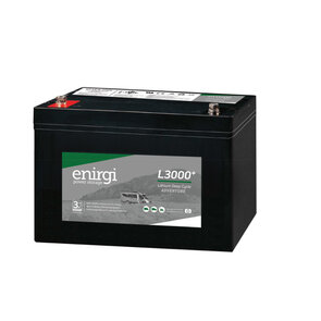 Enirgi L3000+ Lithium Deep Cycle (LIFEP04) Battery - 130AH - 12.8V