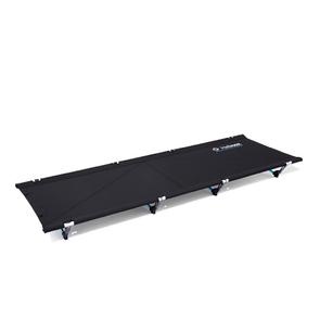 Helinox Cot Max Camp Stretcher Bed - Black with Blue Frame