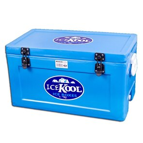 Icekool Polyethelene Icebox - 45L with Divider