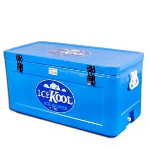 Icekool Polyethelene Icebox - 84L with Divider