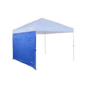OZtrail Fiesta Gazebo Solid Wall Kit - 3m - Midnight Blue