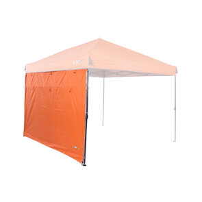 OZtrail Fiesta Gazebo Solid Wall Kit - 3m - Sunset Orange
