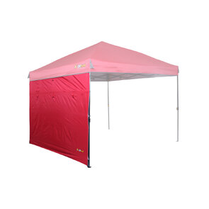 OZtrail Fiesta Gazebo Solid Wall Kit - 3m - Chilli Red