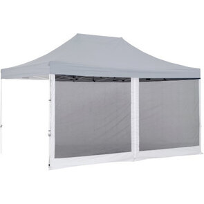 OZtrail Gazebo Mesh Wall Centre Zip 4.5