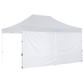 OZtrail Gazebo Solid Wall Centre Zip 4.5