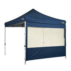 OZtrail Gazebo Solid Wall Kit - Heavy Duty - Blue + PVC