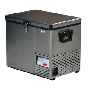 National Luna 40L Fridge Stainless Steel
