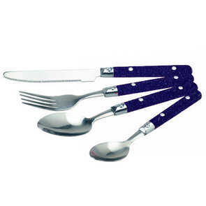 OZtrail 24pc S/Steel Cutlery Set