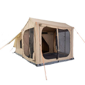 Oztent RX-5 Touring Canvas Tent (Including Living Room & Zip-In-Floor)