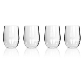 Primus Tritan Stemless Wine Glass 443ml - 4 Pack