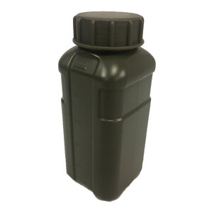 TAS Green 1 Litre Defence Force Style Rectangular Flask