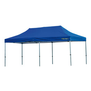 Outdoor Connection H/D Commercial Alum Frame 6 x 3m With 520gsm PVC Canopy - Blue