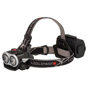 Led Lenser XEO19R Rechargeable Headlamp - Black - Soft Case