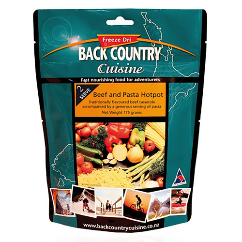 Backcountry Beef & Pasta Hotpot Food - 2 Serve
