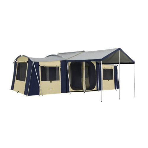 OZtrail Chateau 10 Canvas Cabin Tent