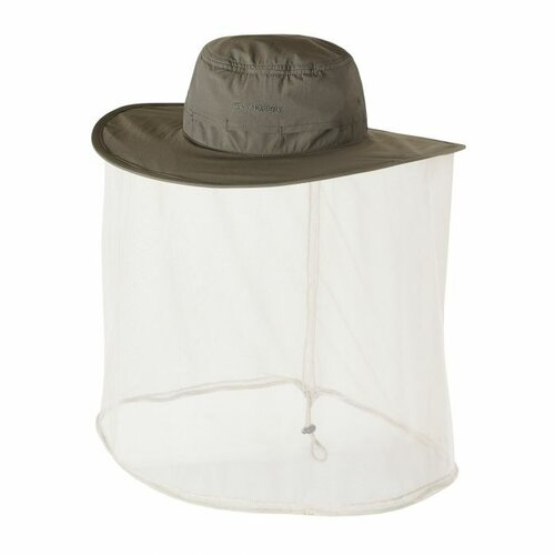 Craghoppers NosiLife Ultimate Hat II - Dark Khaki - Small/Medium