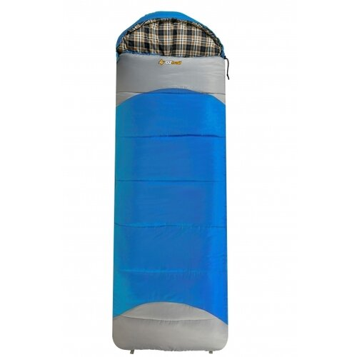 OZtrail Mountain View -7 Hooded Sleeping Bag - Blue